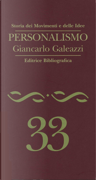Personalismo by Giancarlo Galeazzi