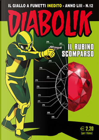 Diabolik anno LIII n. 12 by Alessandro Mainardi, Andrea Pasini, Diego Cajelli, Mario Gomboli