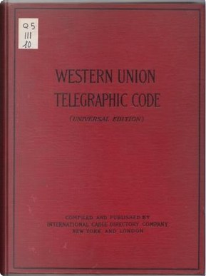 Western Union Telegraphic Code by