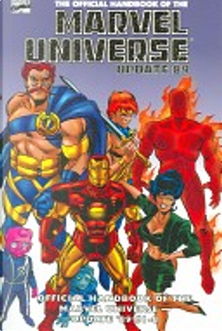 Essential Official Handbook of the Marvel Universe 1 by Peter Sanderson