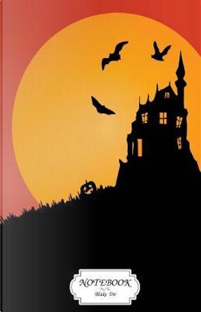 Notebook Halloween Scary Castle by Blake Dv