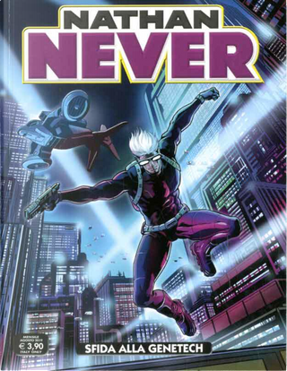 Nathan Never n. 339 by Giovanni Eccher