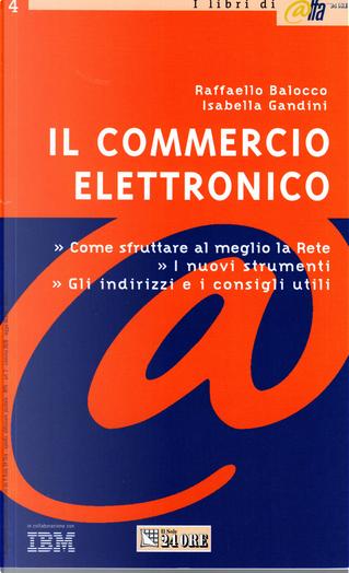Il commercio elettronico by Isabella Gandini, Raffaello Balocco