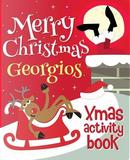 Merry Christmas Georgios - Xmas Activity Book by XmasSt