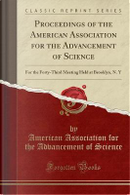 Proceedings of the American Association for the Advancement of Science by American Association for the Ad Science