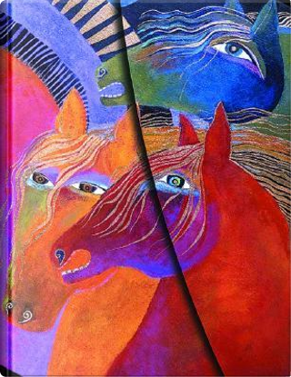 Laurel Burch Wild Horses of Fire Midi LIN by Not Appilcable