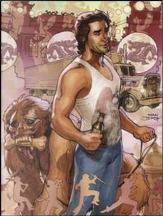 Grosso guaio a China Town. Variant edition by Eric Powell