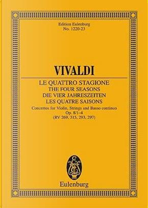 "The Four Seasons op. 8/1 RV 269/PV 241 -""""Spring E Major - violin, strings and basso continuo - study score - (ETP 1220) by Antonio Vivaldi"