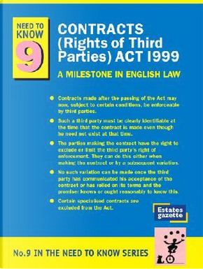 Contracts (Rights of Third Parties) Act 1999 by Victor Vegoda