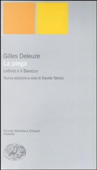 La piega by Gilles Deleuze