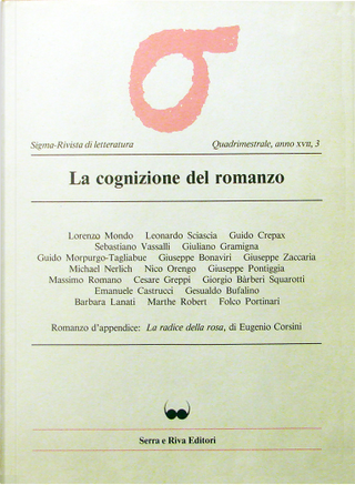 Sigma - Rivista di letteratura