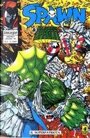 Spawn & the Savage Dragon n. 3 by Alan Moore, Erik Larsen, Jeff Mariotte, Mark Texeira, Mike Heisler, Todd McFarlane