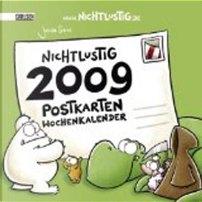 Nichtlustig Postkarten Wochenkalender 2009. by