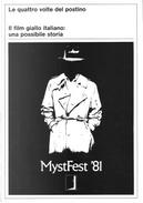 MystFest '81 by Callisto Cosulich, Comune di Cattolica, Dario Zanelli, Francesca Gatto, Giorgio Gosetti
