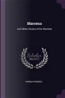 Marsena by Harold Frederic