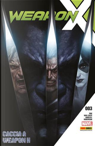 Weapon X vol. 3 by Fred Van Lente, Greg Pak