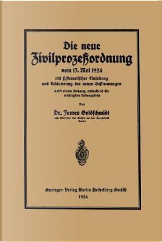 Die Neue Zivilprozeßordnung Vom 13. Mai 1924 Mit Systematischer Einleitung Und Erläuterung Der Neuen Bestimmungen by James Goldschmidt