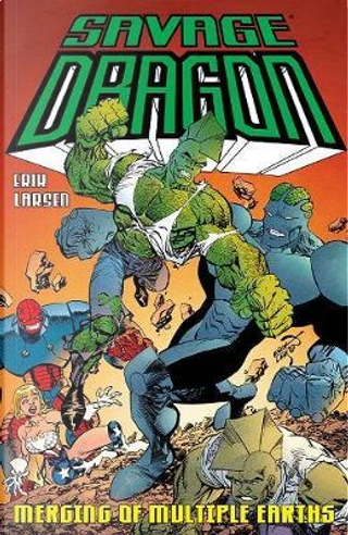 Savage Dragon by Erik Larsen
