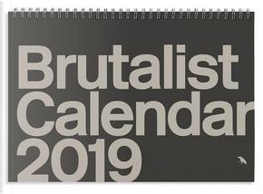 Brutalist 2019 Calendar by Blue Crow Media
