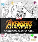 Avengers Infinity War - Deluxe Colouring Book by Centum Books Ltd