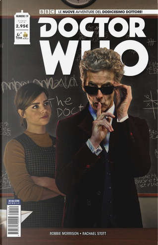 Doctor Who n.19 by Robbie Morrison