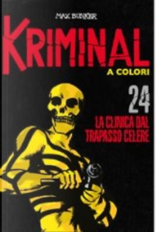 Kriminal a colori - Vol. 24 by Max Bunker