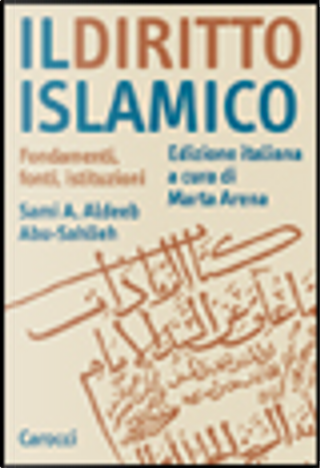 Il diritto islamico by Sami A. Aldeeb Abu-Sahlieh