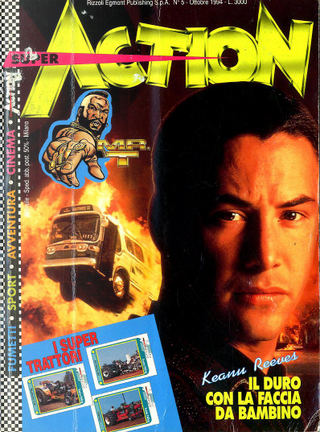 Super Action n. 5, anno I, ottobre 1994 by Bad, Luca Enoch