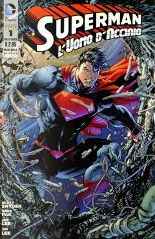 Superman l'Uomo d'Acciaio n. 1 by Greg Pak, Scott Snyder