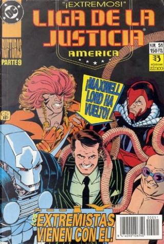 Liga de la Justicia América #51 by J. M. DeMatteis, Keith Giffen