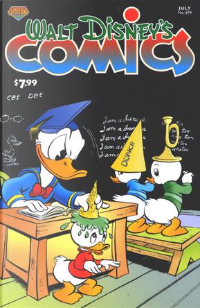 Walt Disney's Comics And Stories #694 by Al Hubbard, Carl Barks, Dick Kinney, Donald D. Markstein, Floyd Gottfredson, Lars Jensen, Noel Van Horn, Victor Arriagada Rios, William Van Horn