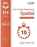 10-Minute Tests for 11+ Non-Verbal Reasoning by CGP Books