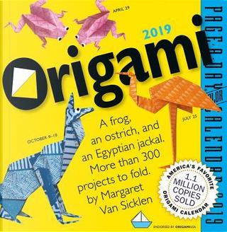 Origami 2019 Calendar by Margaret Van Sicklen