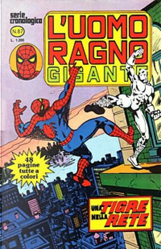 L'Uomo Ragno Gigante n. 87 by Bill Mantlo, Chris Claremont