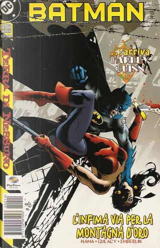 Batman Nuova Serie #14 by Bronwin Carlton, David Roach, Larry Hama, Mike Deodato Jr., Paul Gulacy, Randy Emberlin, Tom Morgan