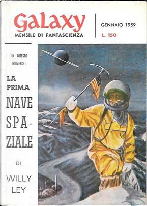 Galaxy - Gennaio 1959 by F. L. Wallace, Philip K. Dick, Robert Sheckley, William Tenn, Willy Ley