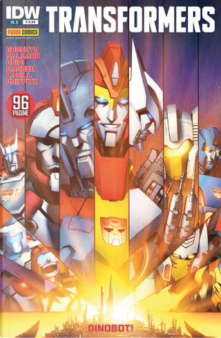 Transformers vol. 5 by James Roberts