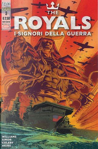 The Royals - I Signori della Guerra n. 3 by Rob Williams, Shaun Simon