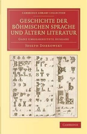 Geschichte der böhmischen Sprache und ältern Literatur by Joseph Dobrowsky