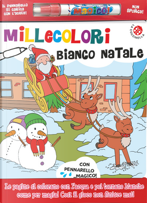 Bianco Natale. Millecolori by Agnese Gomboli, Gabriele Clima
