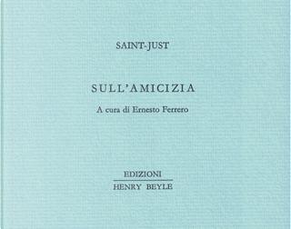 Sull'amicizia by Saint-Just