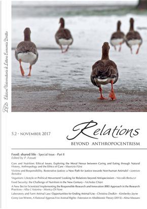 Relations. Beyond anthropocentrism. Vol. 5/2: Food: shared life
