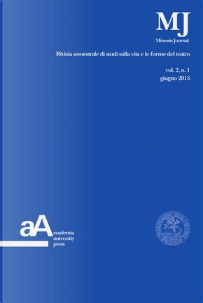 Mimesis journal. Vol. 2/1