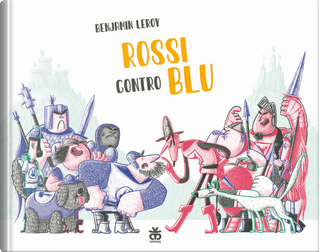 Rossi contro blu by Benjamin Leroy
