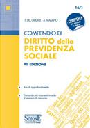 Compendio di diritto della previdenza sociale by Federico Del Giudice, Federico Mariani