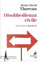 Disobbedienza civile by Henry David Thoreau