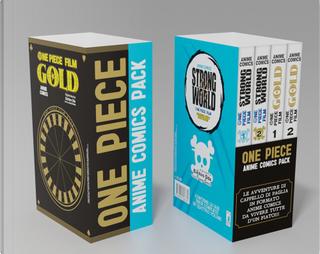 One piece. Anime comics pack by Eiichiro Oda