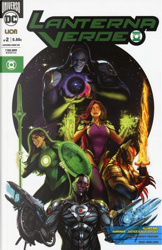 Lanterna Verde. Ediz. variant. Vol. 2
