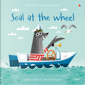 Seal at the wheel by Lesley Sims