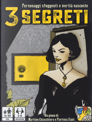 3 segreti. Carte by Martino Chiacchiera, Pierluca Zizzi